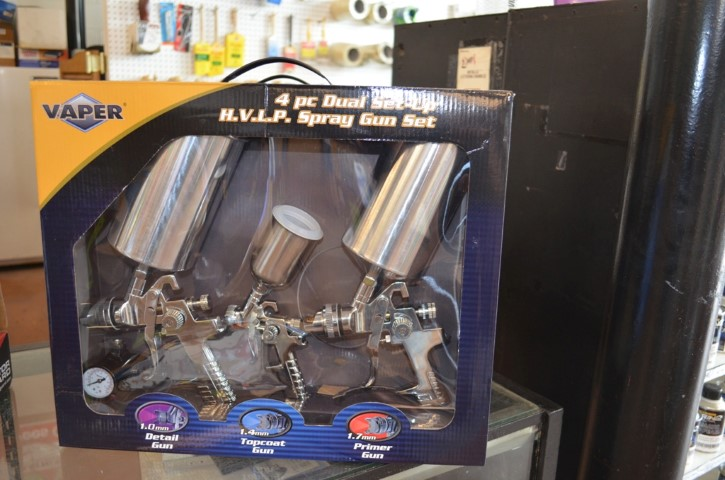 Vaper spray gun set